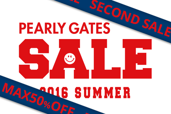 PEARLY GATES SUMMER SECOND SALE!!