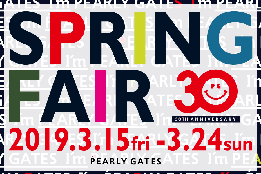 30th ANNIVERSARY SPRING FAIR