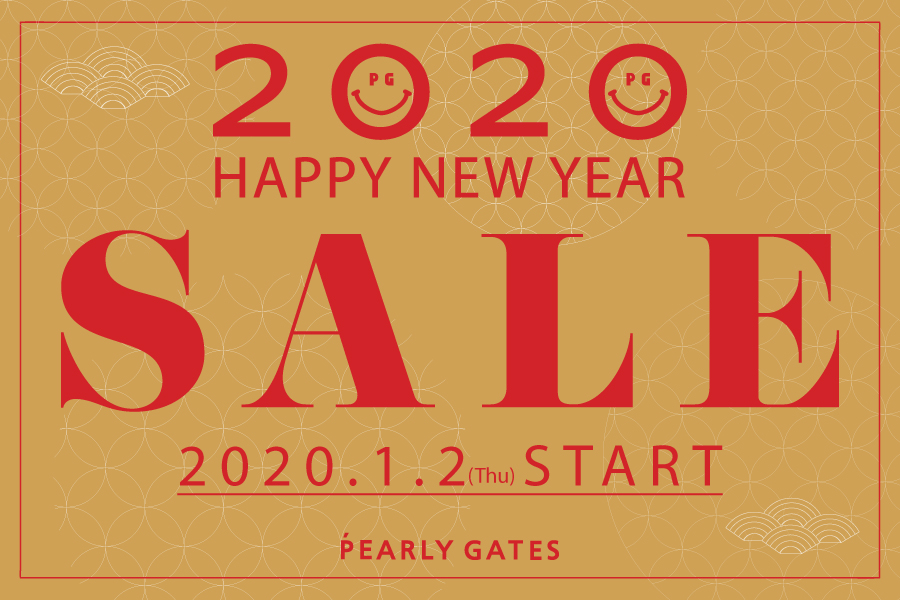PEARLY GATES HAPPY NEW YEAR SALE START!!