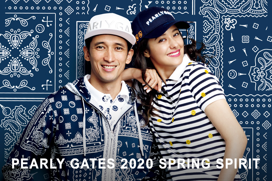 PEARLY GATES 2020 SPRING CATALOGUE 公開!!